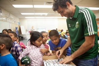 MLS: Diego Valeri Summer School Assembly